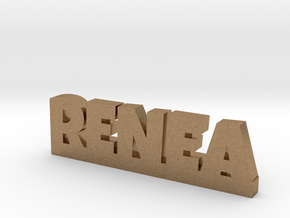 RENEA Lucky in Natural Brass