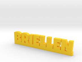 BRIELLEN Lucky in Yellow Processed Versatile Plastic