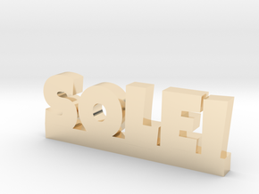 SOLEI Lucky in 14k Gold Plated Brass