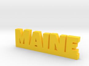 MAINE Lucky in Yellow Processed Versatile Plastic