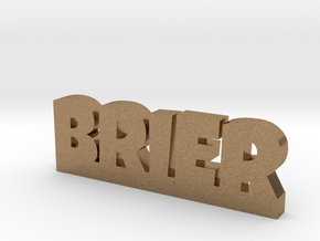 BRIER Lucky in Natural Brass
