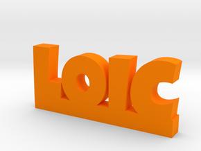LOIC Lucky in Orange Processed Versatile Plastic