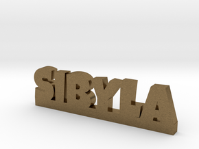 SIBYLA Lucky in Natural Bronze