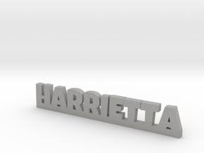 HARRIETTA Lucky in Aluminum