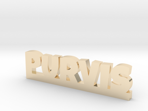 PURVIS Lucky in 14k Gold Plated Brass
