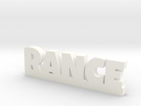 RANCE Lucky in White Processed Versatile Plastic