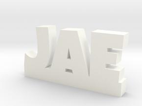 JAE Lucky in White Processed Versatile Plastic