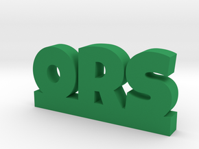 ORS Lucky in Green Processed Versatile Plastic