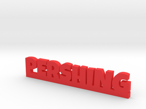 PERSHING Lucky in Red Processed Versatile Plastic