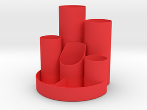 Penholder 2 in Red Strong & Flexible Polished