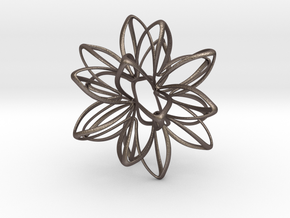 Star Potential in Polished Bronzed Silver Steel