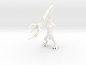 Erk'goth 1 in White Processed Versatile Plastic