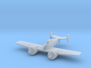 Grumman XF5F 'Skyrocket' in Smooth Fine Detail Plastic: 1:285 - 6mm