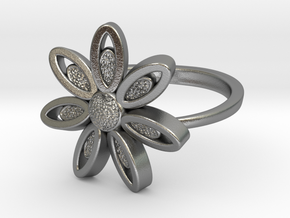 Spring Blossom -Ring in Natural Silver