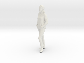 Printle C Femme 404 - 1/24 - wob in White Natural Versatile Plastic