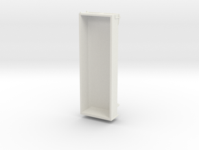 Z 023 Roll off Container HO 1:87 in White Natural Versatile Plastic
