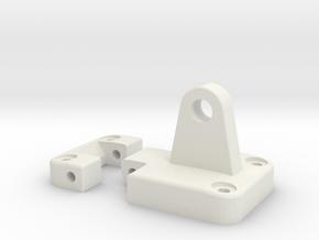 Functional door hinge new model side mirror D90 D1 in White Strong & Flexible