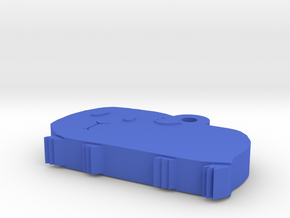 Guinea Mini Charm in Blue Processed Versatile Plastic