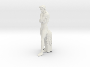 Printle Classic Staue in White Strong & Flexible