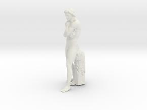 Printle Classic Staue in White Natural Versatile Plastic