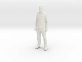 Printle C Homme 490 - 1/24 - wob in White Natural Versatile Plastic