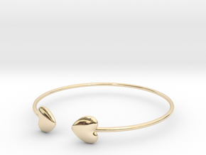 Everything heart bracelet in 14K Yellow Gold