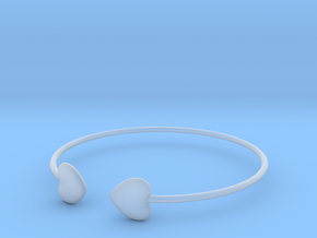 Everything heart bracelet in Smooth Fine Detail Plastic
