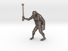 Zombie The APOCALYPSE in Polished Bronzed Silver Steel: Large