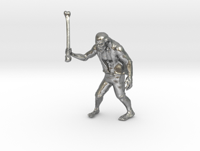 Zombie The APOCALYPSE in Natural Silver: Large