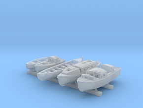 1/350 Scale RN Tribal Class Boat Set in Smooth Fine Detail Plastic