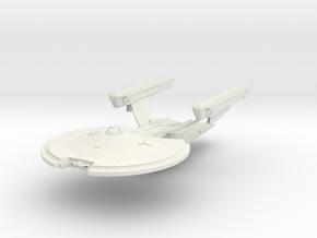 Griffin Class BattleCruiser in White Natural Versatile Plastic