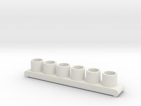 Sealab Gas Hose Storage Tanks in White Strong & Flexible