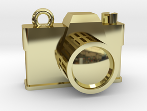 Camera flash in 18k Gold Plated Brass