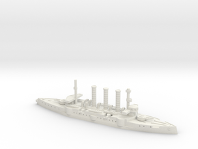 IJN Izumo 1/700 in White Natural Versatile Plastic