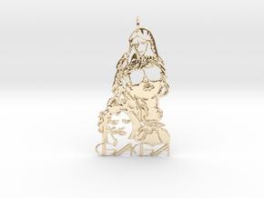 Lady Gaga Pendant - Exclusive Jewellery in 14K Yellow Gold
