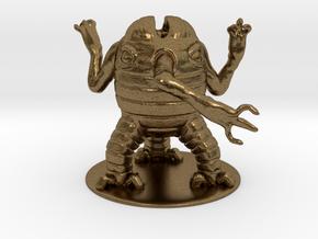 Xorn Miniature in Natural Bronze: 1:60.96
