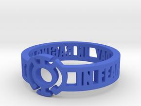 Blue Lantern Oath Ring in Blue Processed Versatile Plastic: 7 / 54