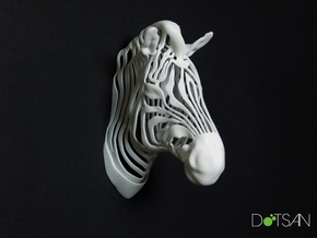 Wired Life Zebra in White Strong & Flexible