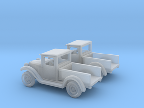 1934 Pickup Z Scale in Smooth Fine Detail Plastic