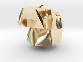 Skull GMTRX v1.03 in 14K Yellow Gold: Large