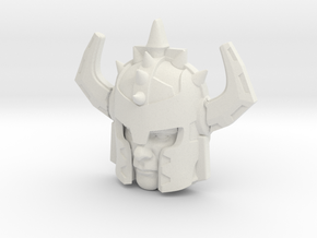 Jetstrike Human Face (Titans Return) in White Natural Versatile Plastic