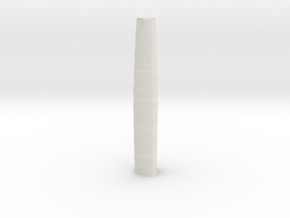 Guangzhou International Finance Centre (1:2000) in White Natural Versatile Plastic