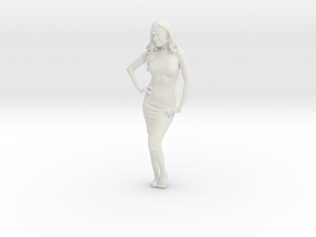Printle C Femme 175 - 1/32 - wob in White Strong & Flexible