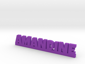 AMANDINE Lucky in Purple Strong & Flexible Polished