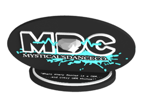 Mysticals Dance Company/MDC in Coated Full Color Sandstone