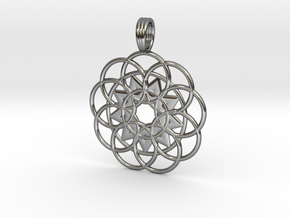 VORTEXICON in Fine Detail Polished Silver