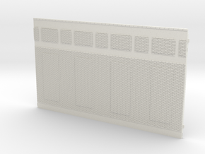 NGG-Mext02a - Large Railway Station in White Natural Versatile Plastic