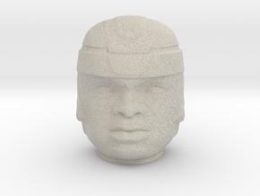 Olmec Head  in Natural Sandstone: Small