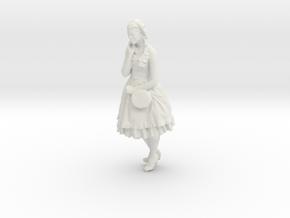 Printle C Femme 127 - 1/43 - wob in White Natural Versatile Plastic