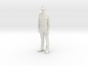Printle C Homme 065 - 1/43 - wob in White Natural Versatile Plastic
